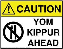 yom kippur- fasting